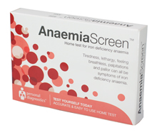 AnaemiaScreen iron test